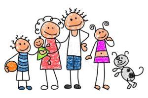 Familie und Verwandte